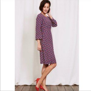 Boden Celia Fit and Flare Floral Dress Size 12